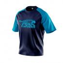 T-Shirt homme, central navy / bleu