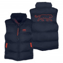 men's down jacket, navy