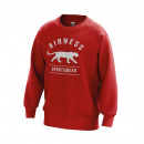Men's sweatshirt, red anniversary