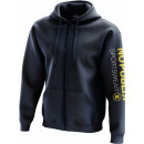 Men's sweatshirt, navy sport hood