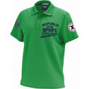 Polo Shirt man, original green