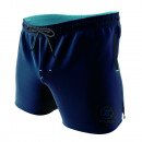 swimsuit man, navy / light blue