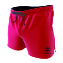 swimsuit man, plain red / navy