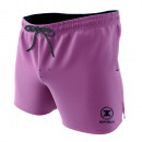 swimsuit man, plain pink / navy