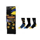 set of 3 man socks, maze