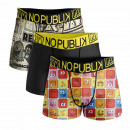 set of 3 boxer shorts man, icon and Vintage