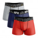 set of 3 boxer shorts man, family belt