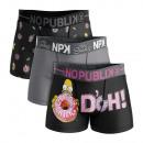 Set mit 3 Boxershorts Mann, Donuts