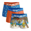 Set mit 3 Boxershorts Mann, Hawaii