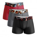 ensemble de 3 boxer short homme, best fighter