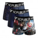 set of 3 boxer shorts man, style