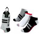 Set mit 3 kurzen Socken, weicher Sport