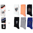 set of 3 socks woman, skull stars