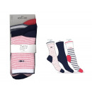 set of 3 socks woman, sailor