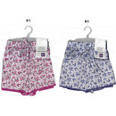 boxer shorts woman, roses