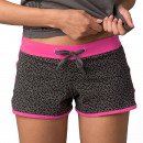 woman shorts, pingpong Leopard rose