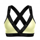 women's bra, yellow rubber