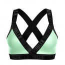women's bra, light green rubber