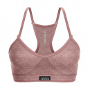 women's bra, work hard old pink