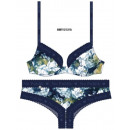 women's bra, + shorty assorted blossom