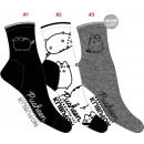 Großhandel Fashion & Accessoires: Set mit 3 Damensocken, Core Lineart Lurex