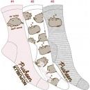 nagyker Ruha és kiegészítők: 3 női zokni készlet, lusta álmos