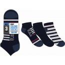 juego de 3 calcetines cortos para niños, EE. UU.