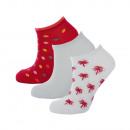 set of 3 short socks child, plamiers