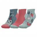 set of 3 children's short socks, under th