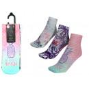 Set mit 3 kurzen Socken für Kinder, tropisch