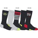 wholesale Stockings & Socks: set of 5 socks child, us eagle lot gri
