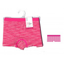 shorty enfant, mouline fuschia