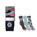Set of 3 child socks, donuts