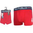 boxer shorts child, losc plain color red