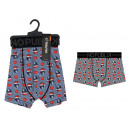 boxer short enfant, merry christmas all over