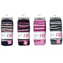 child's gaiters, multi stripes