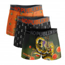 set of 3 boxer shorts child, dragon
