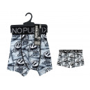 boxer shorts child, black & white