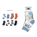 ensemble de 8 chaussettes baby, garcon one,two,thr