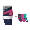 conjunto de 3 calcetines de bebé, amor mar jeans /