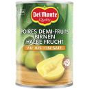 DelMonte pears 1/2 fruit juice 450ml can