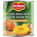 Großhandel Lebensmittel: DelMonte pfirsich 1/2 Frucht saft 850ml Dose