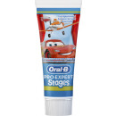 oral-b stages toothpaste car / prin.75ml tube