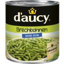 daucy brechbohnen sehr fein 425ml Dose