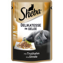 sheba delicacy turkey in gel.85g