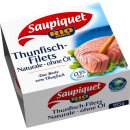 Saupiquet tuna fillet natural 185g can