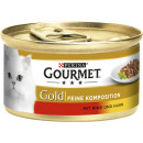 gourmet gold beef + chicken 85g 867 tin