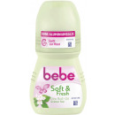 wholesale Toiletries: bebe roll on soft + fresh 50ml