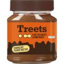 Großhandel Nahrungs- und Genussmittel: treets peanut but.choc.fair.340g Glas