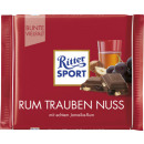 Ritter Sport ron trump nut 100g pizarra